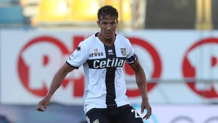 Bruno Alves gol in Parma-Sassuolo