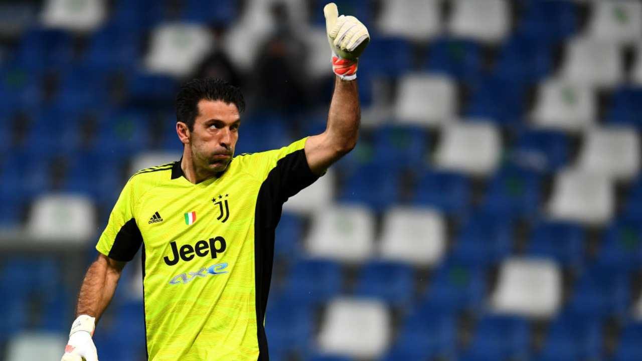 Buffon portiere Juventus