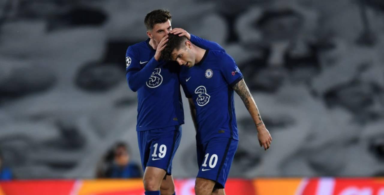 Chelsea Fulham formazioni