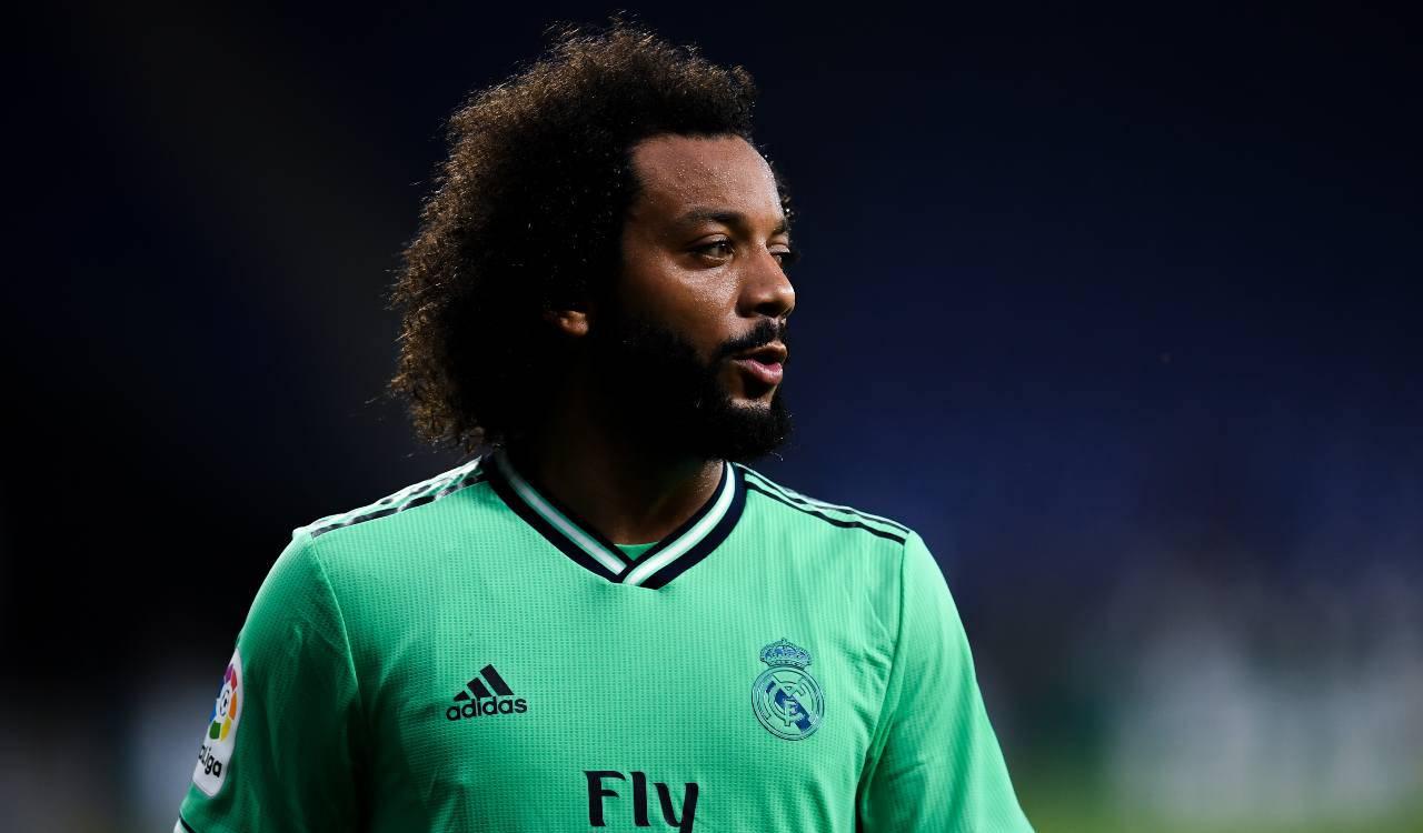 Chelsea Real Madrid Marcelo
