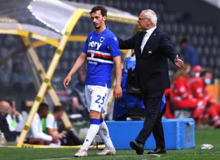 Ranieri Gabbiadini Sampdoria