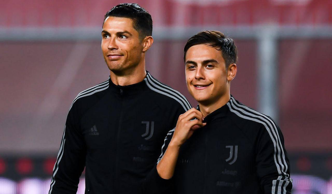 Dybala e Ronaldo, attaccanti Juve