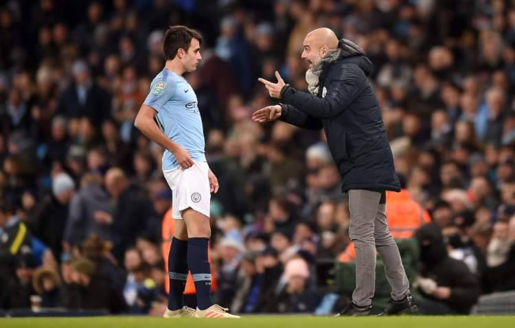 Guardiola allenatore di Garcia al Manchester City