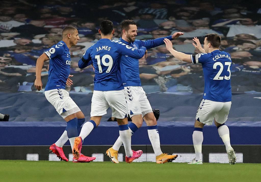 Everton Aston Villa formazioni