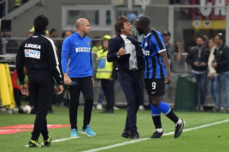 Festa Scudetto Inter Conte Lukaku