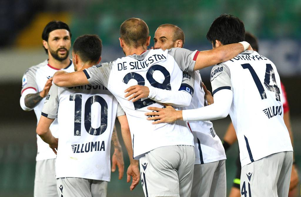 highlights Verona Bologna