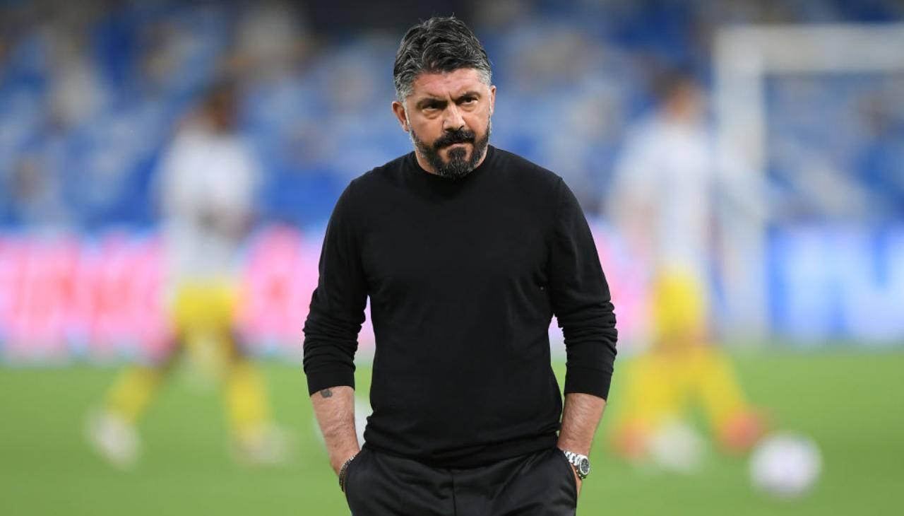 Gattuso ex allenatore Napoli
