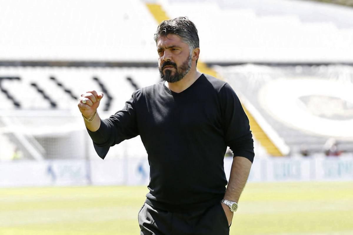 Gattuso Spezia-Napoli