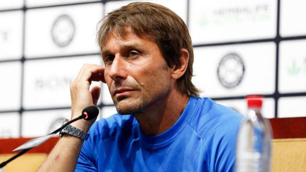 Antonio Conte conferenza stampa Inter Roma
