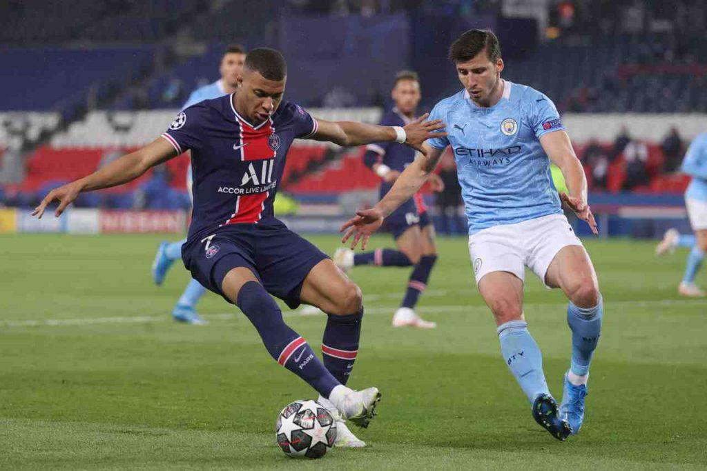 Manchester City PSG Mbappé rientro