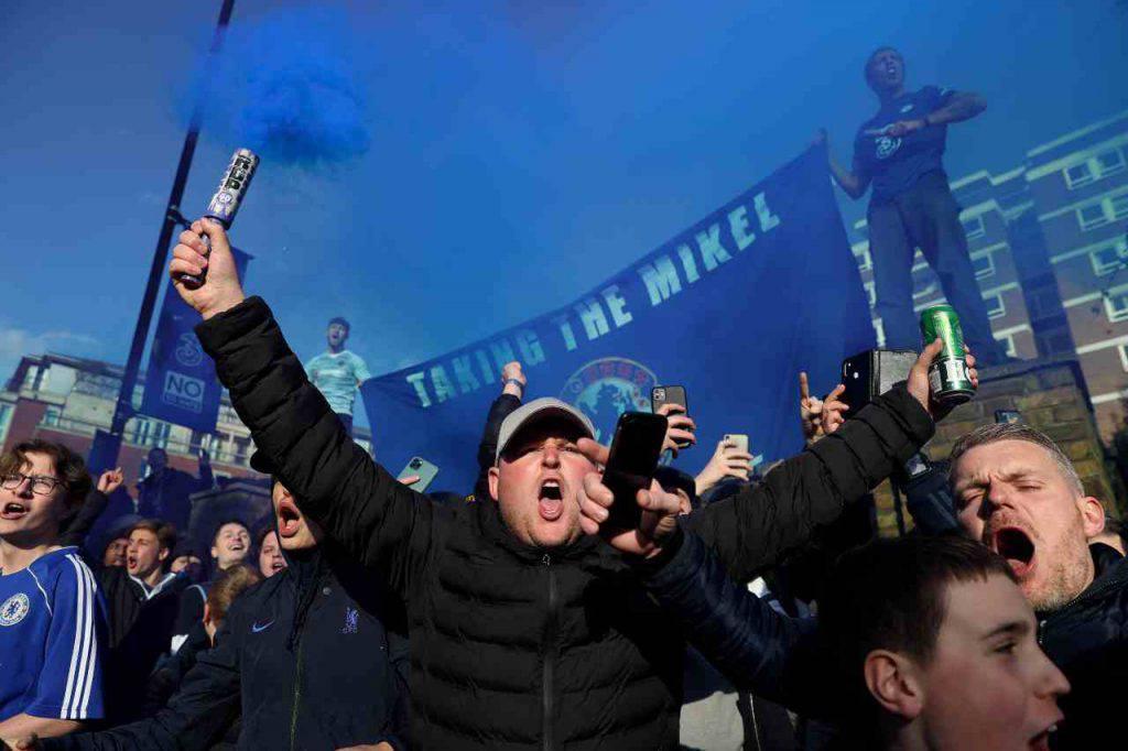 Chelsea Manchester City tifosi