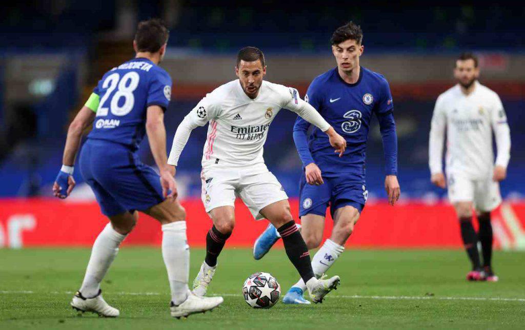 Chelsea Real Madrid Hazard