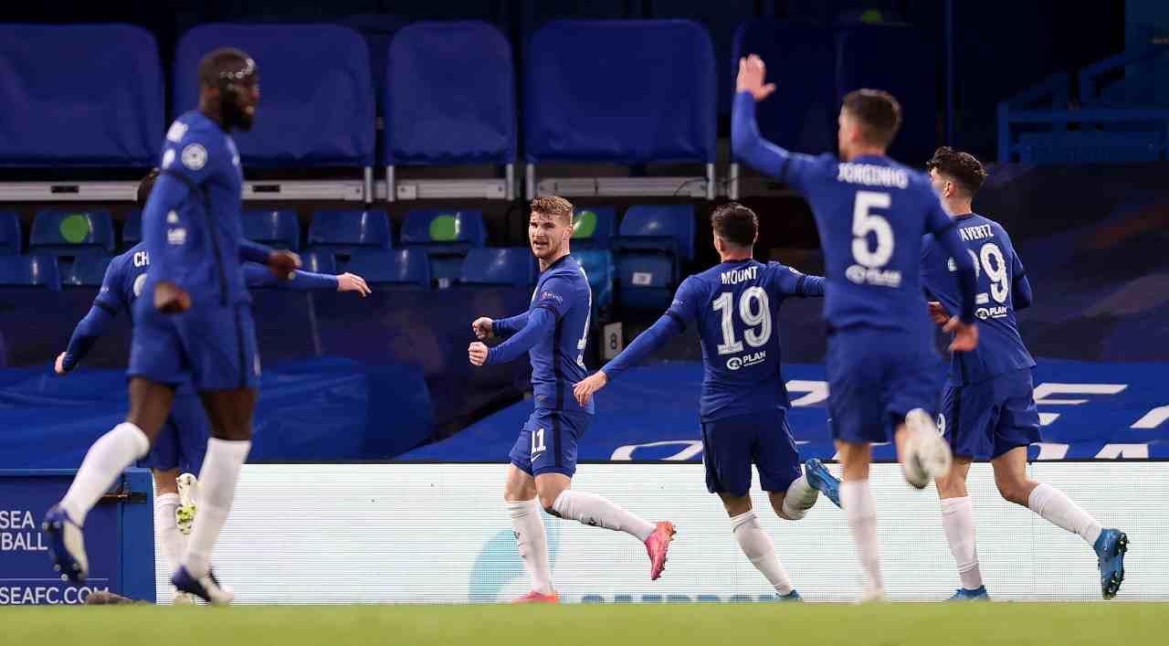 Chelsea Leicester formazioni