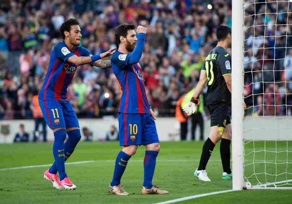Messi Neymar Barcellona
