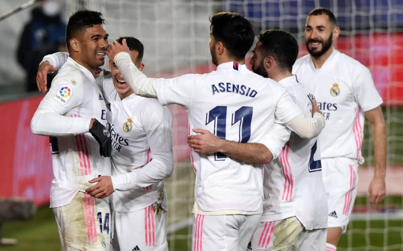 Atletico Bilbao Real Madrid formazioni