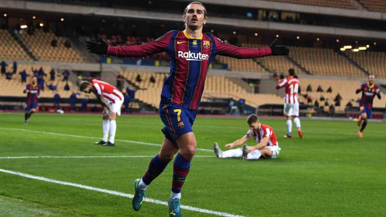Griezmann attaccante Barcellona
