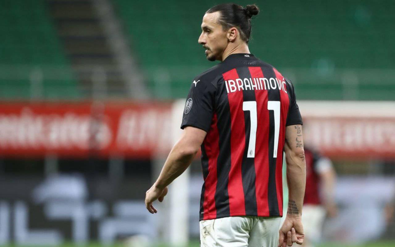 Ibrahimovic Giroud Donnarumma