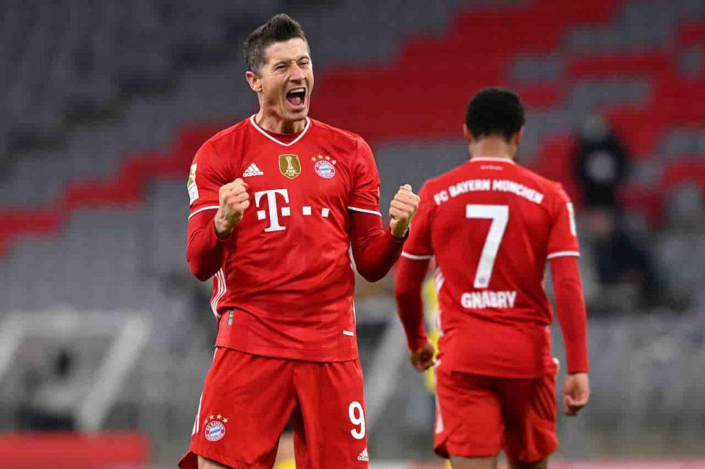 Il Bayern fissa il prezzo di Lewandowski (Getty Images)