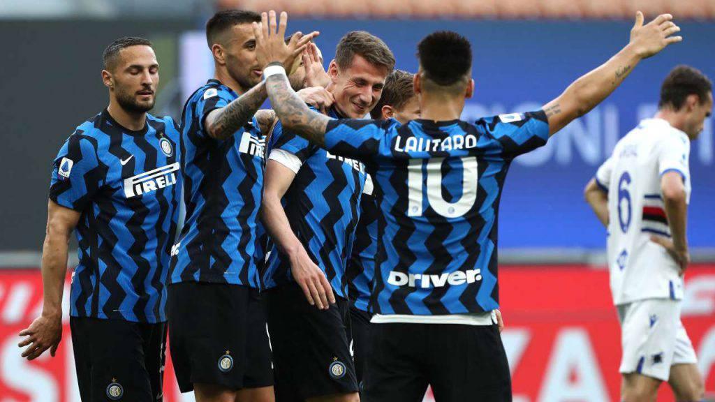 Inter Conte record