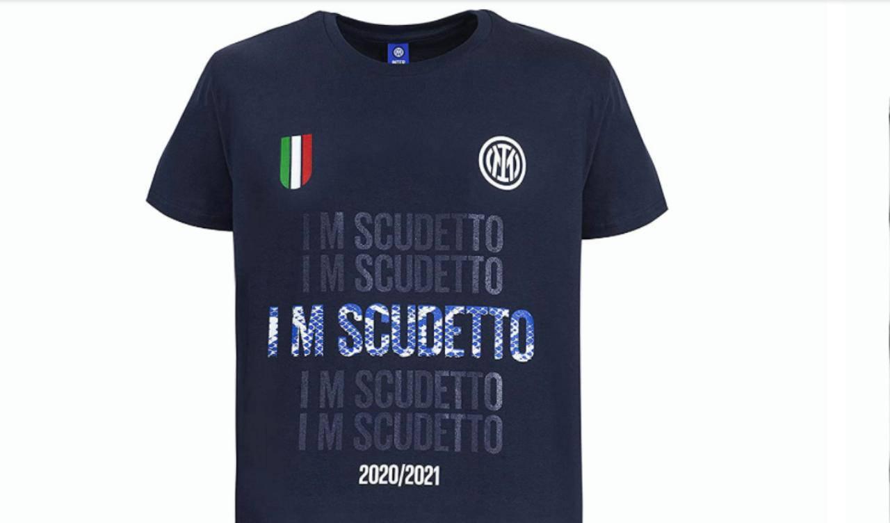 Inter campione d'Italia maglia