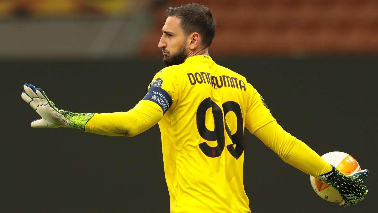 Juventus Milan Donnarumma social