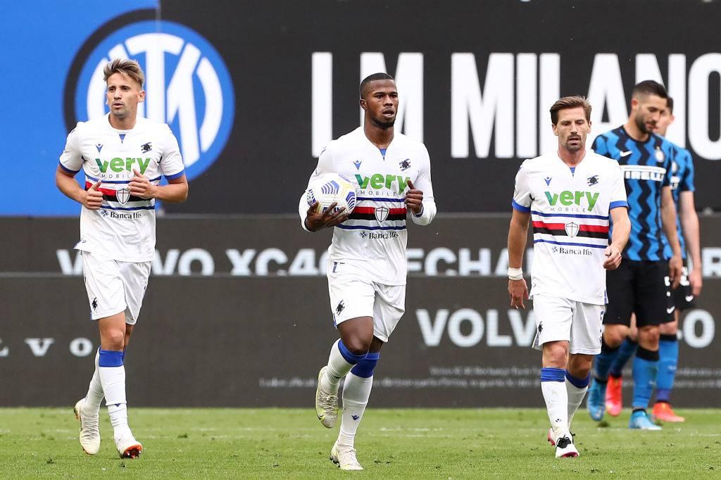 Inter Sampdoria Candreva Keita
