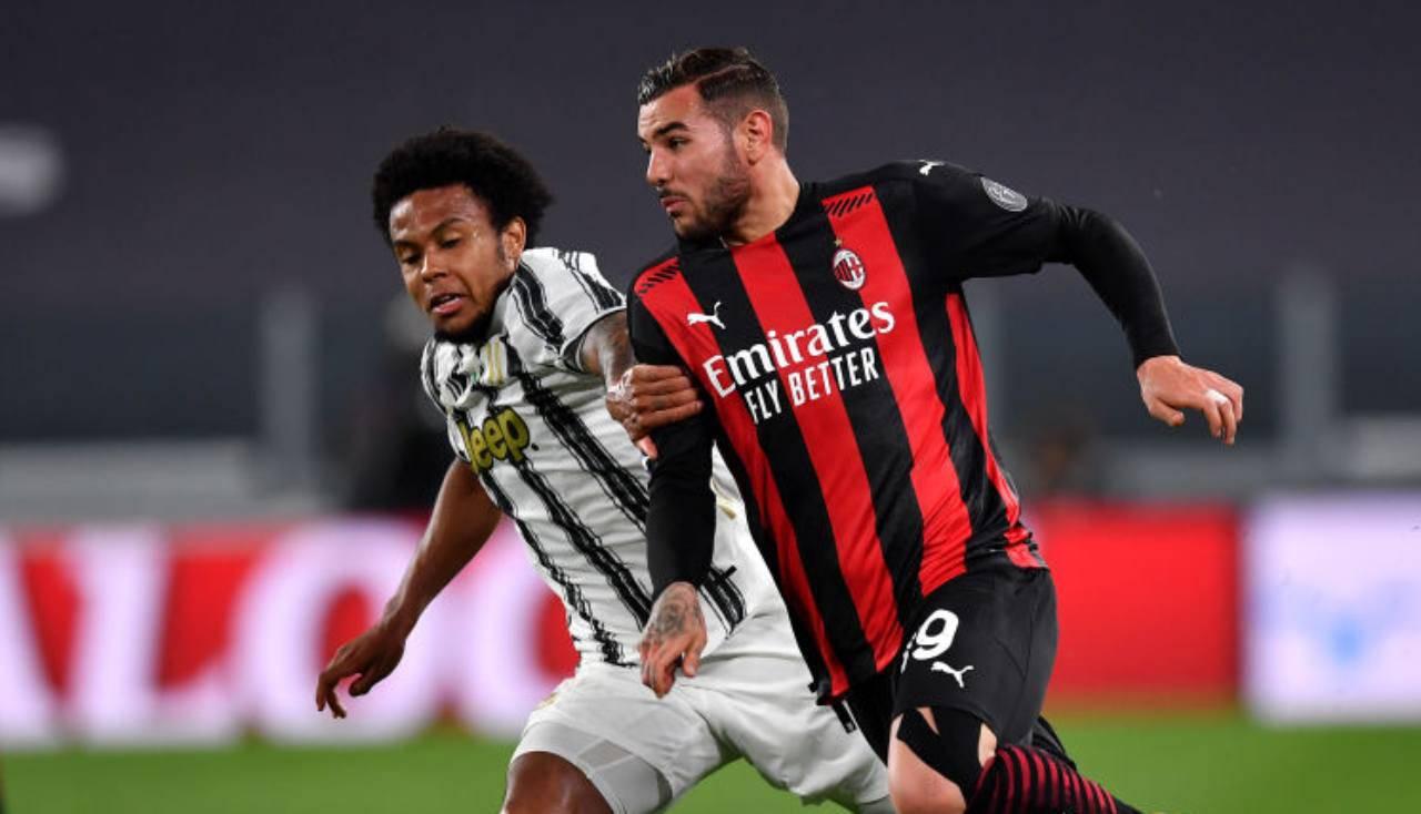 LIVE Juventus-Milan