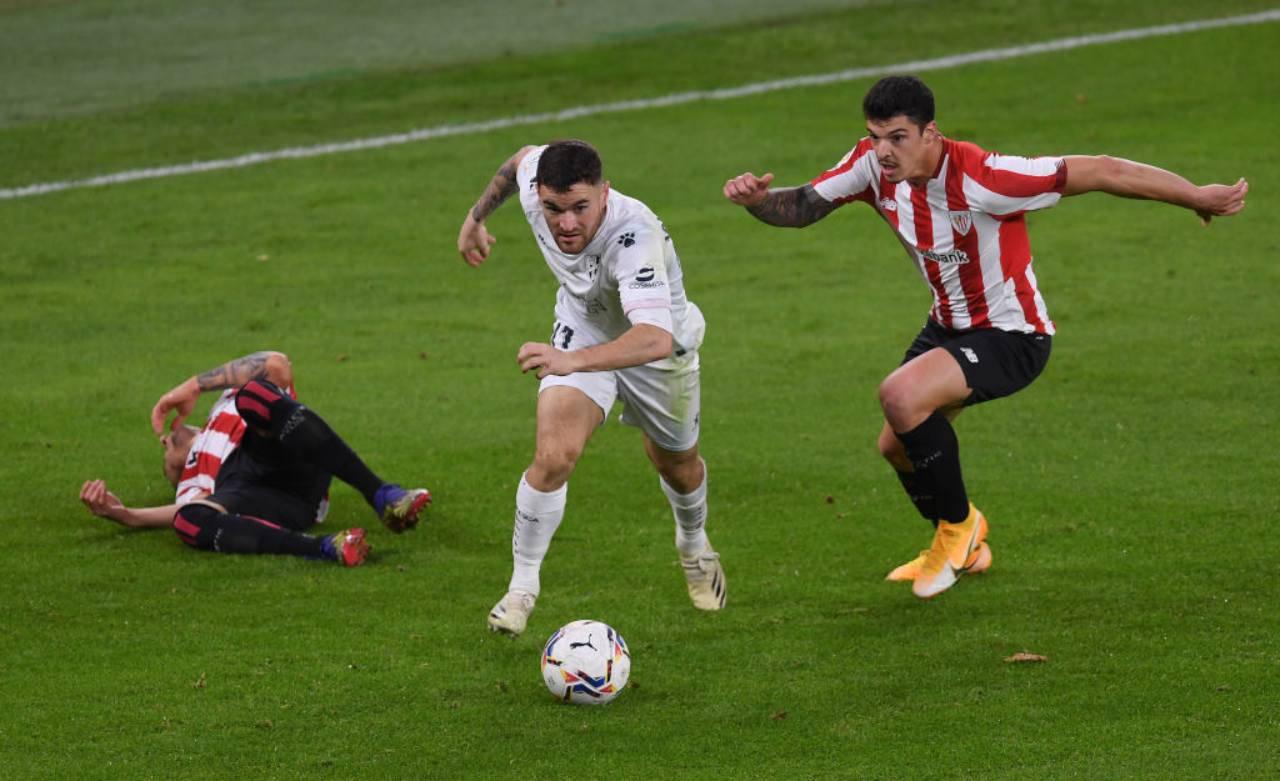 Huesca Athletic Bilbao Formazioni