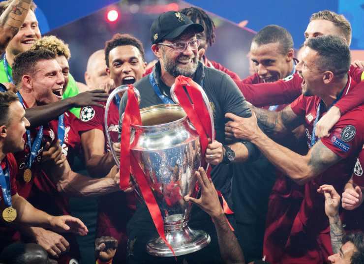 Liverpool vincitore Champions