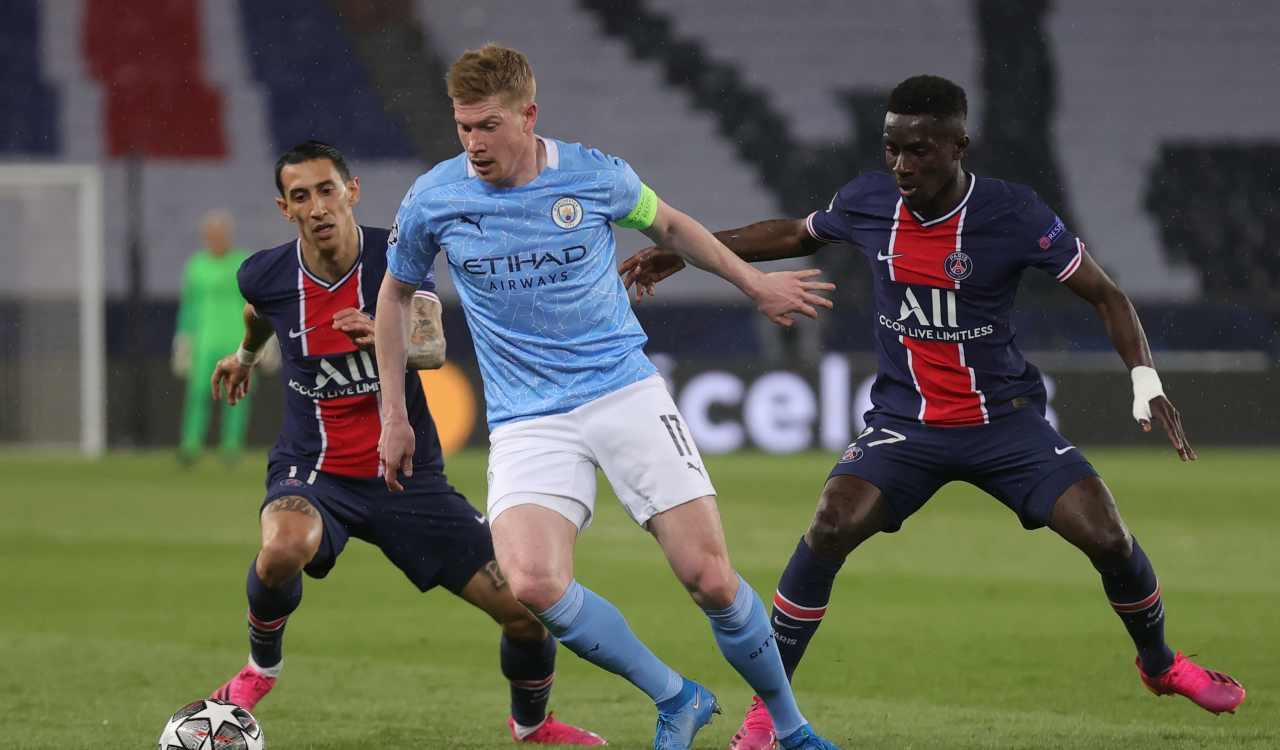 Manchester City PSG formazioni