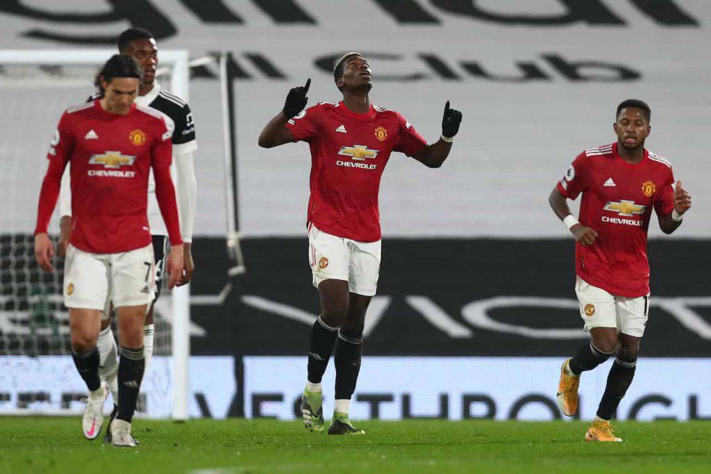 Manchester United Fulham Pogba il gesto per la Palestina (Getty Images)