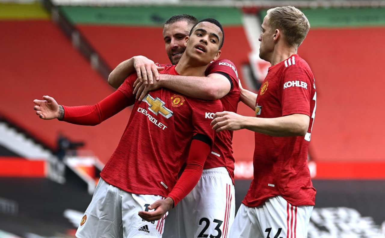 Manchester United Fulham formazioni