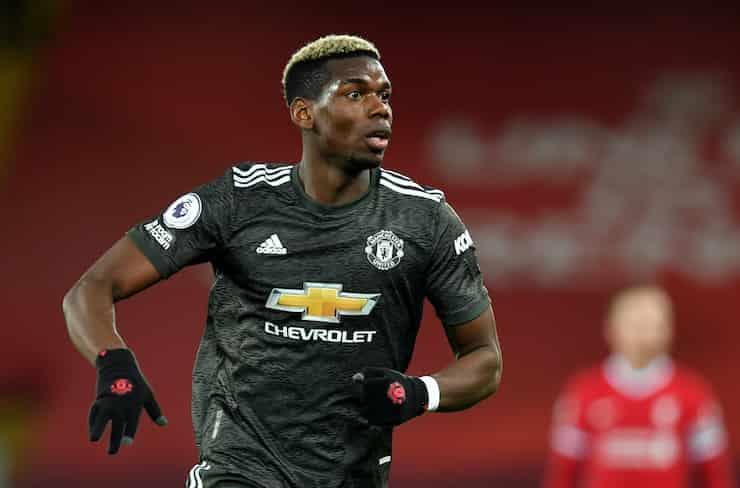 Manchester United Pogba ai saluti (Getty Images)