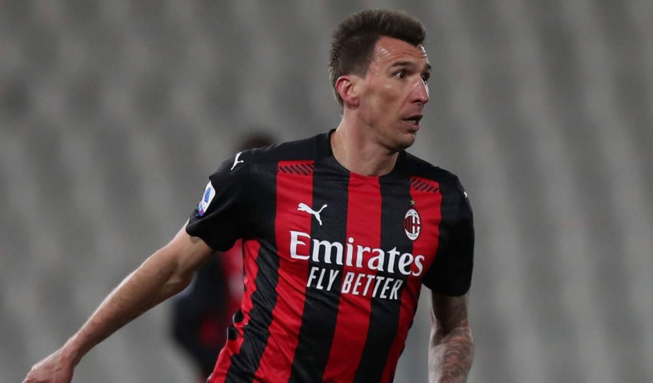 Milan Benevento Mandzukic out