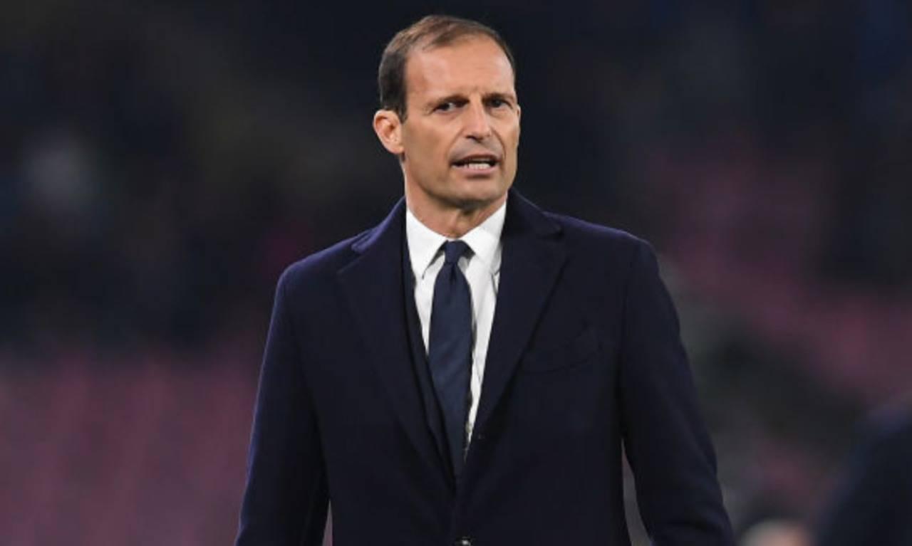 Allegri trend social per la Juventus