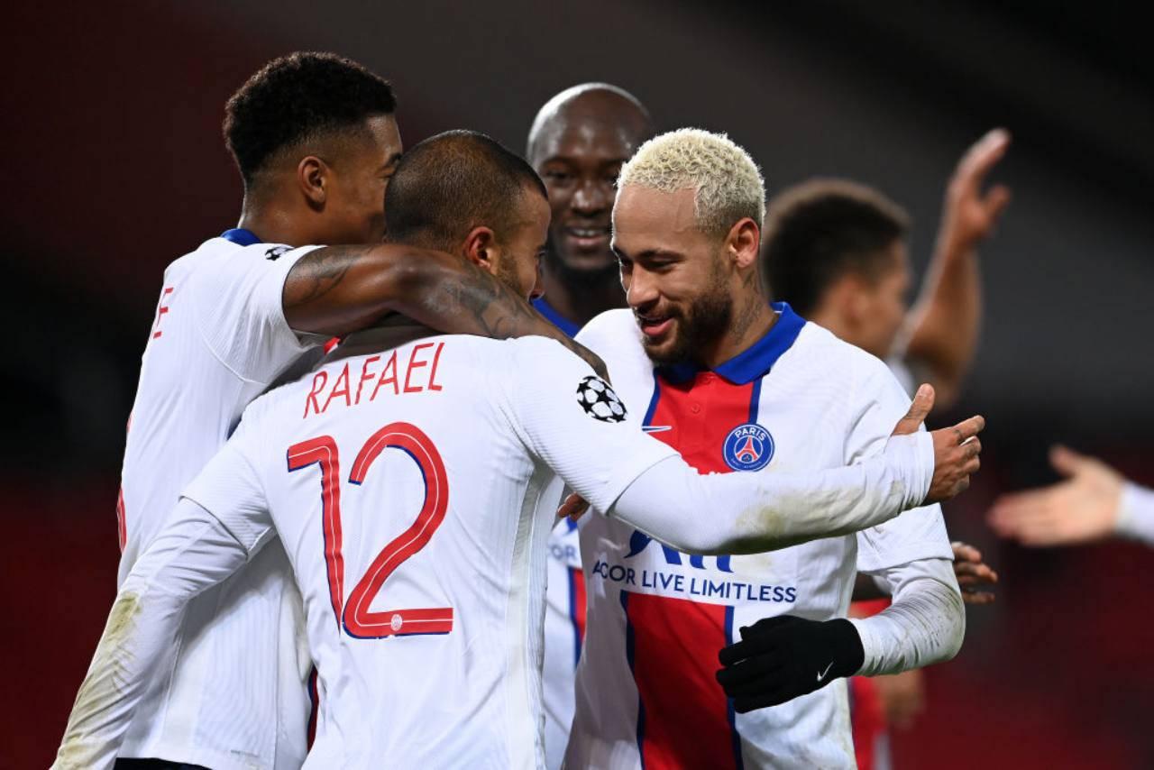 Montpellier PSG formazioni