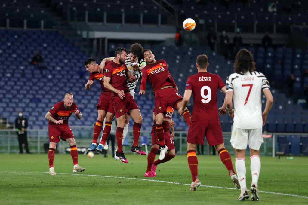 Moviola Roma Manchester United (Getty Images)