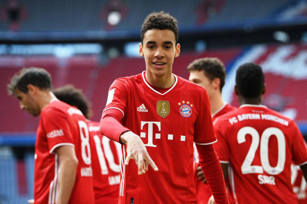 Bayern Monaco Davies Musiala
