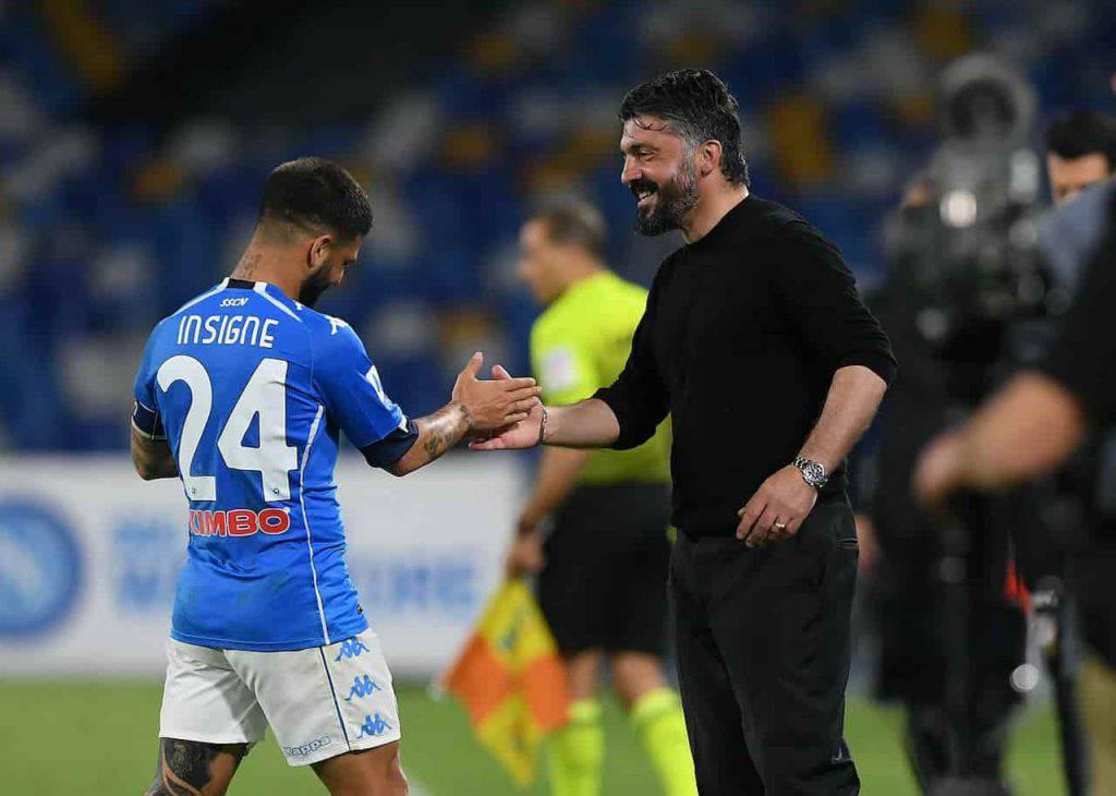 Napoli Udinese Insigne record e gol (Getty Images)