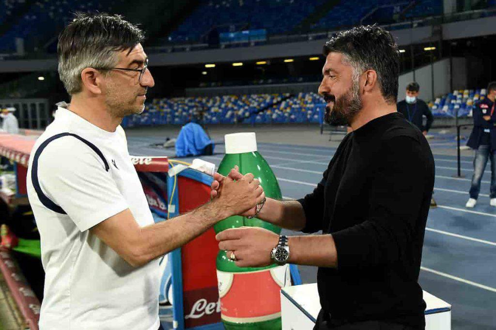 Napoli Verona Gattuso Juric (Getty Images)