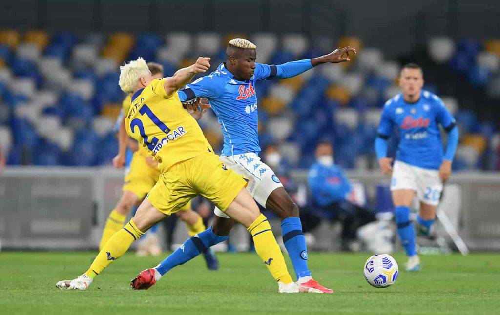 Napoli Verona highlights (Getty Images)