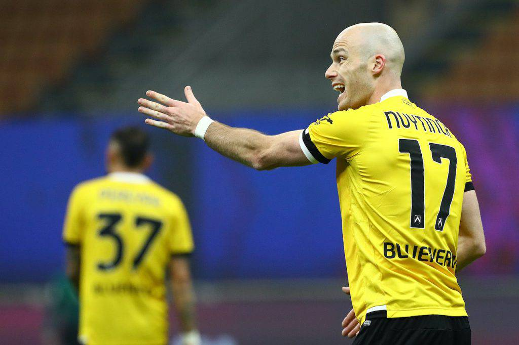 Nuytinck infortunio Napoli Udinese (Getty Images)