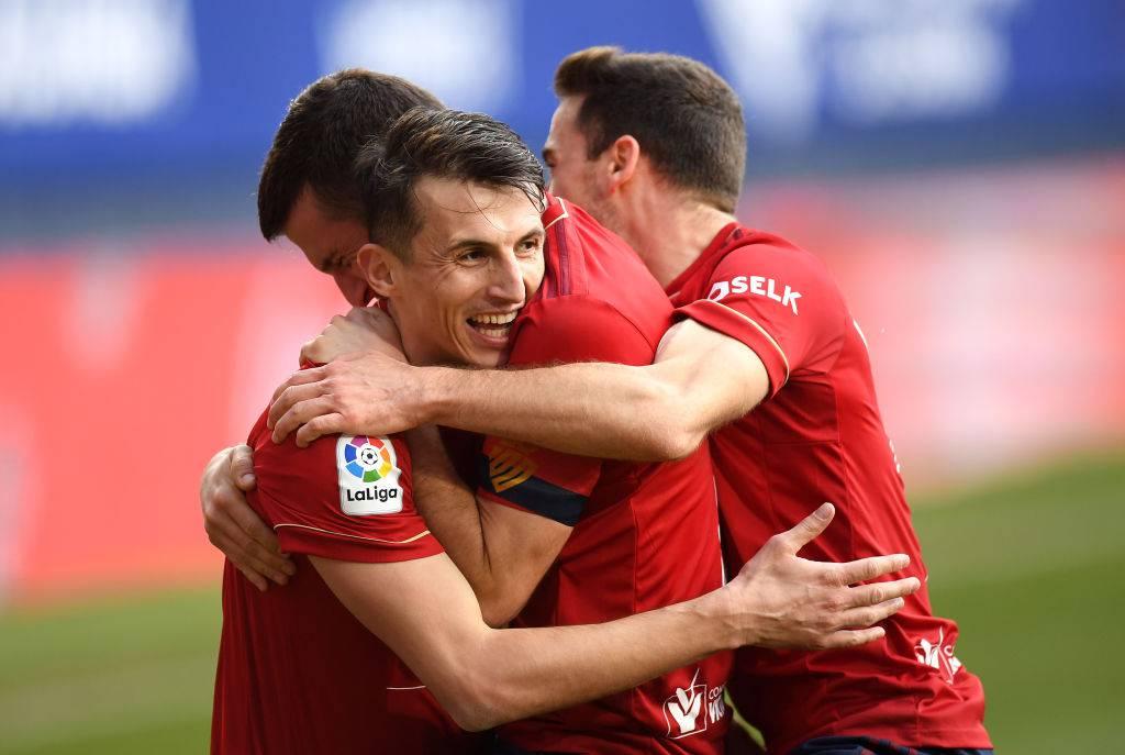 Atletico Madrid Osasuna formazioni