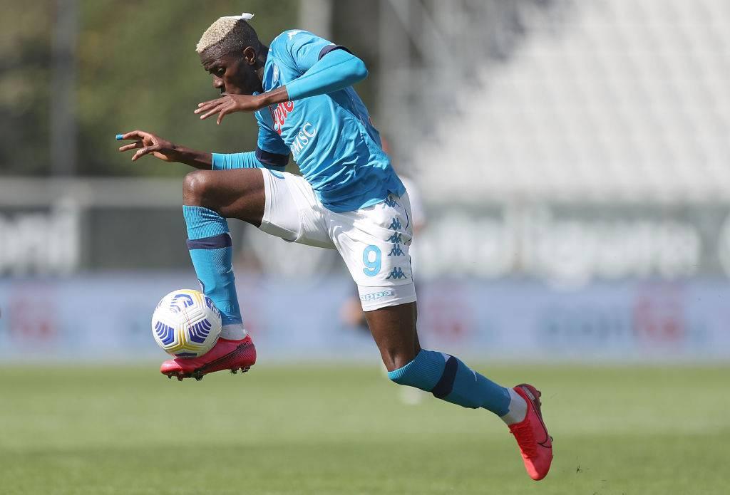 Victor Osimhen segna anche in Spezia Napoli: il record