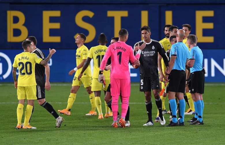 Real Madrid Villareal formazioni