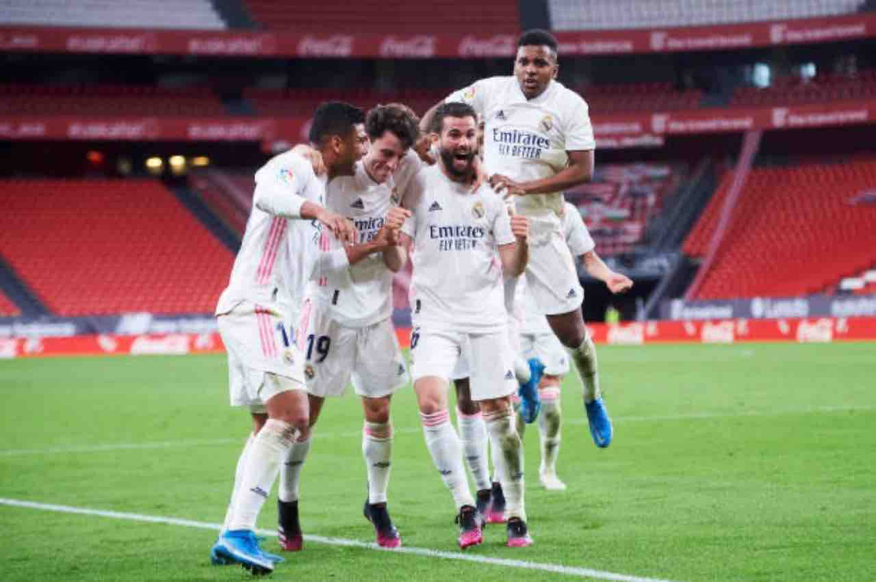 Real Madrid esultanza
