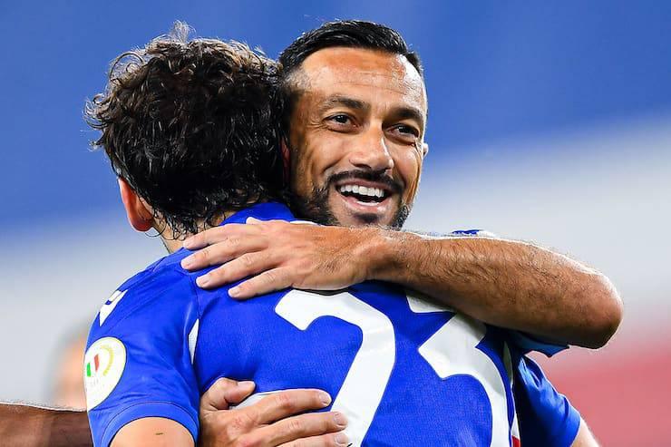 Record di presenze per l'attaccante blucerchiato (Getty Images)