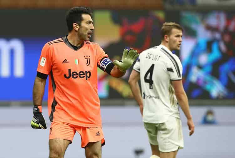 Rigore parato da Buffon (Getty Images)