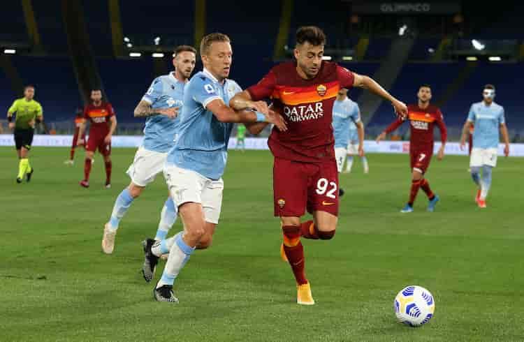 Derby della Capitale ai giallorossi (Getty Images)