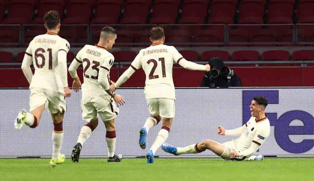 Roma Manchester United formazioni